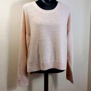 Charlie Paige Blush Pink Sparkly Sweater